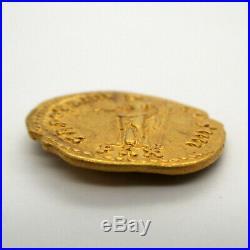 150-151 AD Roman Empire ANTONINUS PIUS Gold Coin AUREUS Ancient RIC III 200a PAX