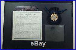 193-211 AD Ancient Roman Silver Denarius 14K Gold Bezel Coin Pendant Jewelry