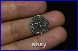 2 Ancient Roman Empire Silver Denarius / Antique Roman Silver Denarius Coins