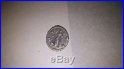 (2) Two Ancient Roman Coins Faustina the Younger and Marcus Aurelius Denarius