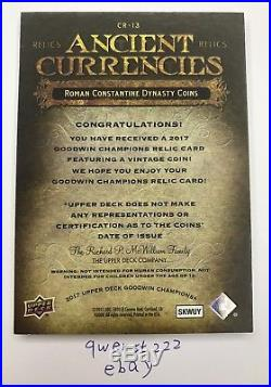 2017 Goodwin Champions Ancient Currencies ROMAN CONSTANTINE DYNASTY COINS UD