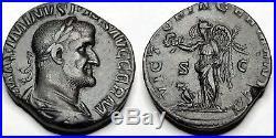 236-238AD Ancient Roman Empire Maximinus I Thrax AE Sestertius Coin RIC-90