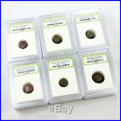 24 Rare Ancient Coin Dealer Lot Byzantine, Roman, Greek, Medieval, Pirate & More