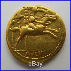27 BC 14 AD Roman Empire AUGUSTUS CAESAR Gold Coin AV AUREUS Ancient RIC 198