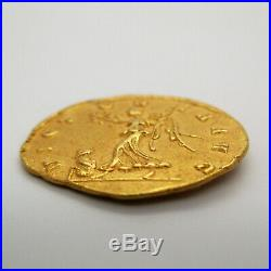 270-275 AD Roman Empire AURELIAN ROME Gold Coin AV AUREUS Ancient CALICO 4041