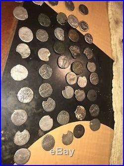 65 Ancient Roman Silver Denarius Coin Lot, Lifetime Silver Some Antoninianus
