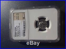 81 to 96 AD Roman Empire DOMITIAN Ancient SILVER Coin AR Denarius NGC F