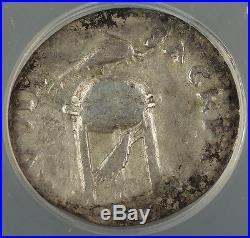 AD 69 Ancient Roman Denarius Silver Coin Vitellius Rome mint ANACS F-15 AKR