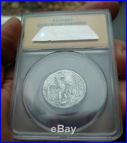 ANACS Ancient Roman Coin Nero tetradrachm 62AD Syria mint Silver Beautiful