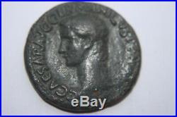 ANCIENT ROMAN CALIGULA AS COIN 1st CENT AD 12 CAESARS