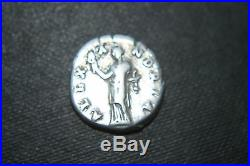 ANCIENT ROMAN HADRIAN SILVER DENARIUS COIN ALEXANDRIA 2nd CENTURY AD CAESAR