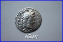 ANCIENT ROMAN NERO DENARIUS COIN 1st CENTURY AD