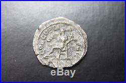 ANCIENT ROMAN ORBIANA SILVER DENARIUS COIN 3rd CENT AD