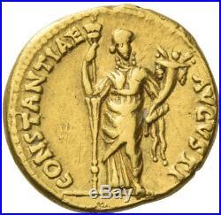 ANTONIA Nero Claudius Drusus Wife 41AD Ancient Gold Roman Aureus Coin RARE