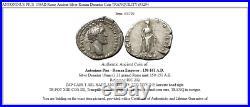 ANTONINUS PIUS 150AD Rome Ancient Silver Roman Denarius Coin TRANQUILITY i53294