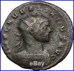 AURELIAN 272AD Authentic Ancient Roman Coin SOL SUN God i23391