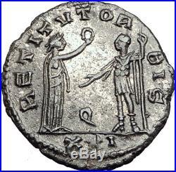 AURELIAN Genuine 275AD Authentic Ancient Original Roman Coin i65153