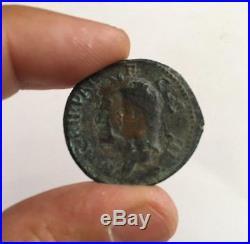 Agrippa Augustus Ancient Roman Coin by CALIGULA RARE COIN