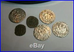 Ancient Artifact Collection lot 1 Templar coins x six