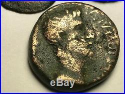 Ancient Auth. 3 Rare$ Roman Coin Augustus 27 Bc 14 Ad. & Legion & Victory