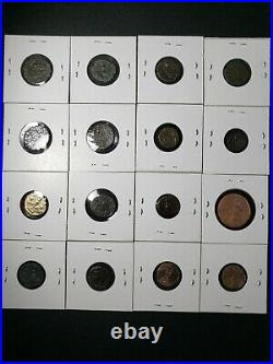 Ancient Coin Lot 16 Roman Coins (27BC-476AD) (GENUINE)