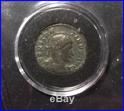 Ancient Greek Roman Empire, Time of Jesus Coin, Angels Watching Heaven 20BC 90AD