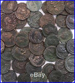 Ancient Roman Coin Constantius II Gallus Dealer Wholesale Lot of 5 Coins VF+/EF