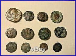 Ancient Roman Coin Lot 40 Bronze, Silver, Billon Persian and Arabian