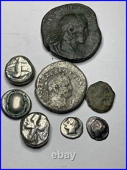 Ancient Roman Coin Lot 8 Coins #109