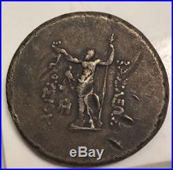 Ancient Roman Coin Medallion First-Strike Caesar Brutus Nero 44grm Zeus Hercules