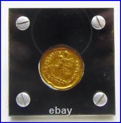 Ancient Roman Empire AV Solidus Arcadius Gold Coin 395 408 AD Constantinople