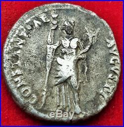 Ancient Roman Empire Coin Antonia (under Claudius) AR Denarius 41-47 AD