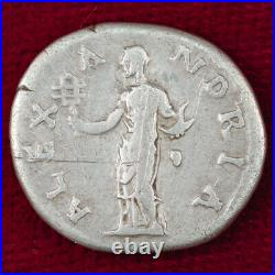 Ancient Roman Empire Coin HADRIAN Silver Denarius ALEXANDRIA Reverse