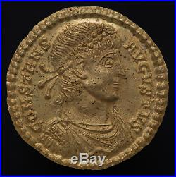 Ancient Roman Empire Gold coin Solidus Aquileia