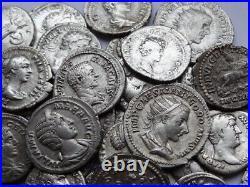 Ancient Roman Empire Silver Coins 83 psc