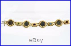 Ancient Roman Four Coin Bracelet Constantine I & Sons in 14kt Sold Gold