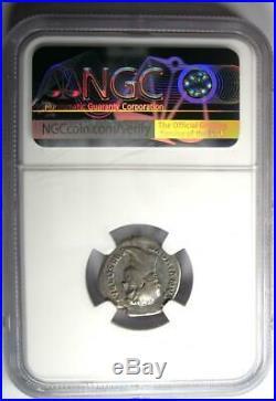 Ancient Roman Hadrian AR Denarius AEGYPTOS Coin 117-138 AD Certified NGC Fine
