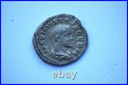 Ancient Roman Maximus Silver Denarius Coin c. 235/8 son of Maximinus