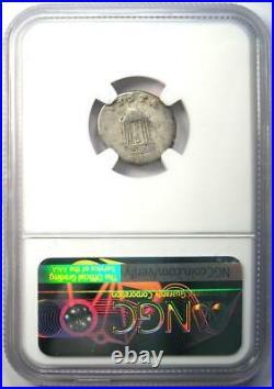 Ancient Roman Nero AR Denarius Coin 54-68 AD Certified NGC VG Rare Coin
