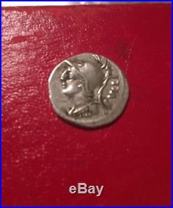 Ancient Roman Republic Coin Denarius Of Servillus M. F. RullusXF