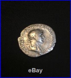 Ancient Roman Silver Coin Denarius Of Trajan(98-117)XF+bonus Ancient Coin