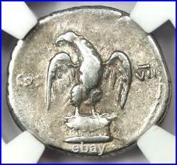 Ancient Roman Vespasian AR Denarius Silver Coin 69- AD Certified NGC Choice Fine