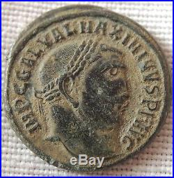 Ancient Roman bronze coin, extremely rare and super high grade ////10