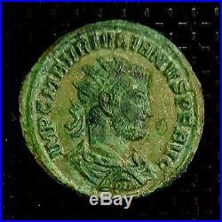 Ancient Roman coin antoninianus, Julian I of Pannonia. 284-285 AD VERY RARE