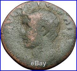 Augustus 34AD Ancient Roman Coin Eagle Posthumous issue under Tiberius i47947