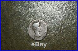 Augustus Silver Denarius 27BC-14AD Ancient Roman Coin