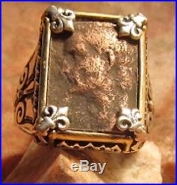 Authentic Ancient Roman coin Emperor Caligula! Men's Ring