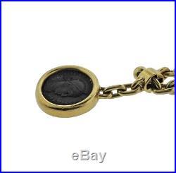 Bulgari Monete Roman Empire Ancient Coin Gold Key Chain