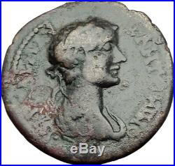 CARACALLA 198AD Genuine Parion Parium Mysia Ancient Roman Coin CAPRICORN i64848