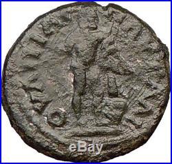 CARACALLA 198AD Pautalia Nude Farnese HERCULES Ancient Roman Coin i21944